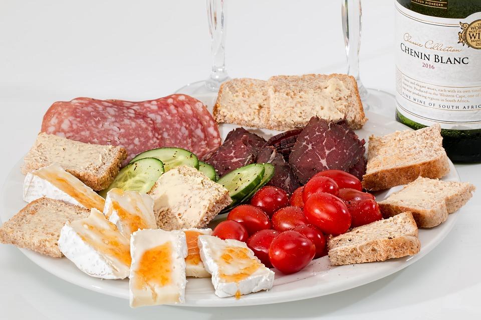 chlebíky, proteíny